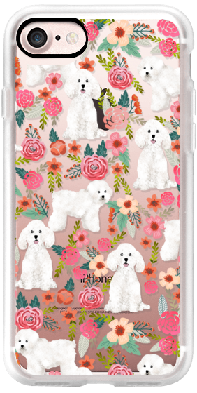 Bichon florals dog breed must have gifts for bichon frise cute fluffy white dog owners rejoice at this gift