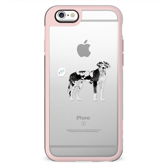 Great Dane clear case dog fart funny tech accessories pure breed dog lover