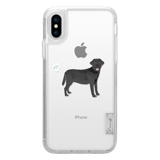 iPhone 6s Cases - Black Lab dog breed clear case pupper fart cute funny gifts for pure breed dog lovers