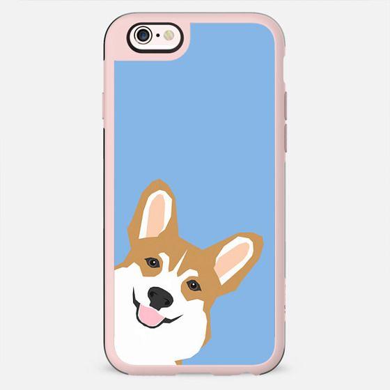 Peeking Corgi funny welsh corgi gifts iphone6 cell phone case for corgi lovers - New Standard Case