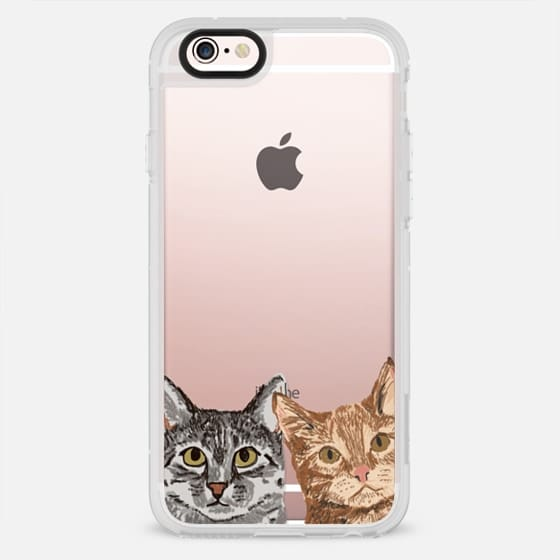 Cat Buddies ute cat lady must have iphone6 gifts for hipster urban cat owners pet portraits