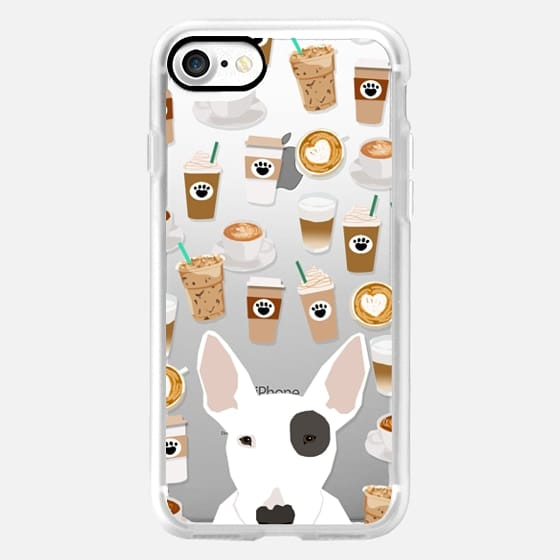 Bull Terrier Cute Target Dog Must Have Spot Gifts Transparent Cell Phone Case For Breed