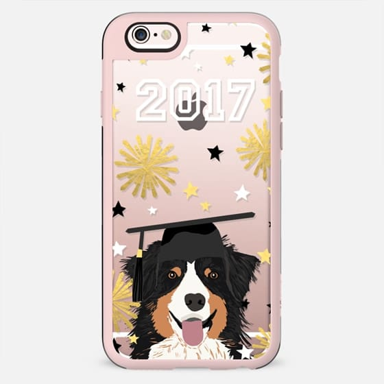Australian Shepherd black and tan cell phone case clear cases for graduate 2017 - New Standard Case