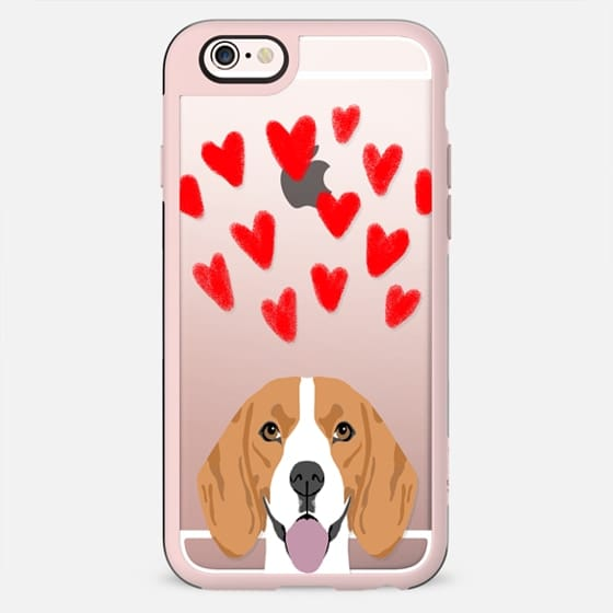 Beagle owner gifts perfect for dog person customizable dog breeds on iphone cell phone transparent case - New Standard Case