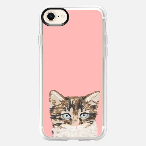 Sweet Kitten pastel pink iphone6 cell phone case cat lady gifts just for cat people tabby kitten - Snap Case
