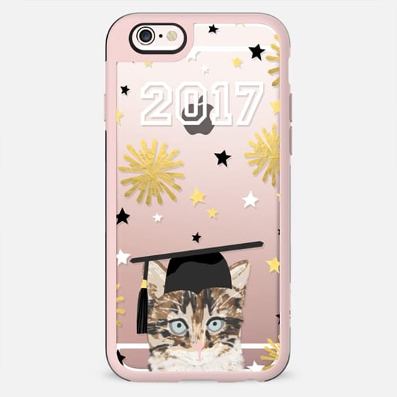 Kitten clear cell phone case tech accessories graduation 2017 gifts by pet friendly