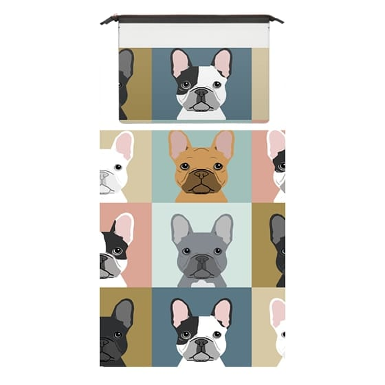 MacBook Pro 15 Sleeves - Cute French Bulldogs macbook laptop sleeve dog person pet friendly tech accessories dog breeds