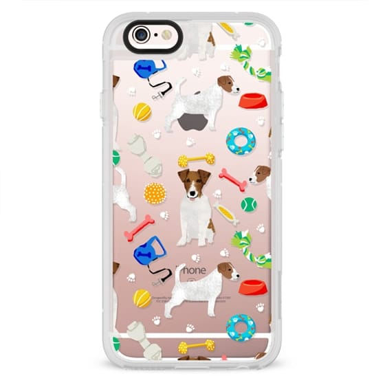 iPhone 6s Cases - Jack Russell terrier cutest dog toys imaginable must have tech accessories for jack russell owners
