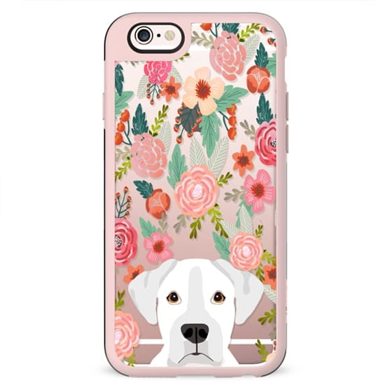 Boxer white coat dog breed cell phone cases for dog lovers dog breeds by pet friendly
