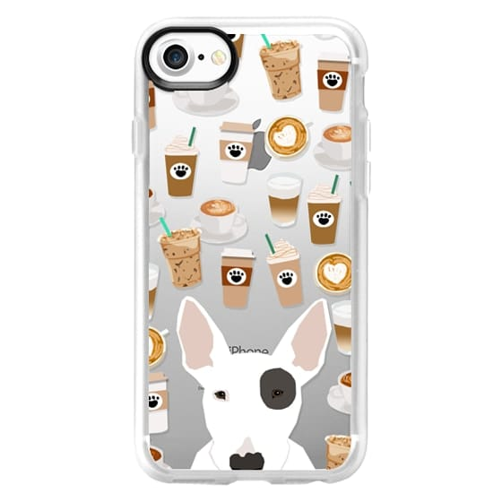 newest bc925 cc795 Impact iPhone X Case - Bull Terrier cute target dog must have spot gifts  transparent cell phone case for dog breed dog lover pet friendly gifts