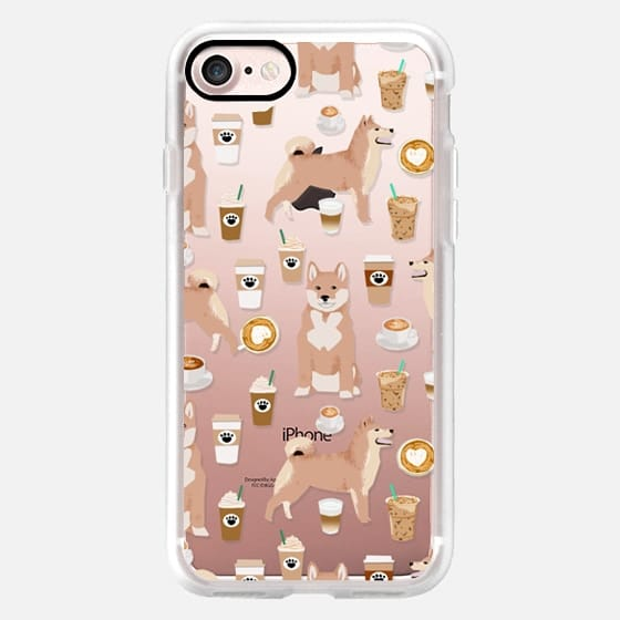 Shiba Inu dog breed pet portraits cute cell phone cases for dog lover with shiba inus