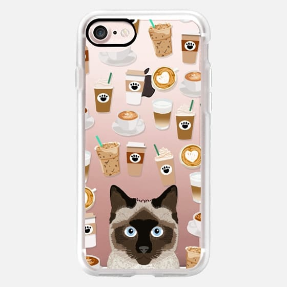 siamese cat cute cat lady cell phone case coffee cats cat breed must haves
