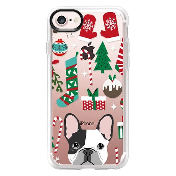 French Bulldog Christmas Stocking.Impact Iphone X Case French Bulldog Christmas Stocking Christmas Tree Present For Frenchie Owner Holiday
