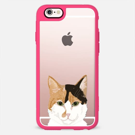 Orange and white tabby cat cute transparent iphone casetify orange and white tabby cat cute transparent iphone 6 case with cute cat for cat voltagebd Image collections