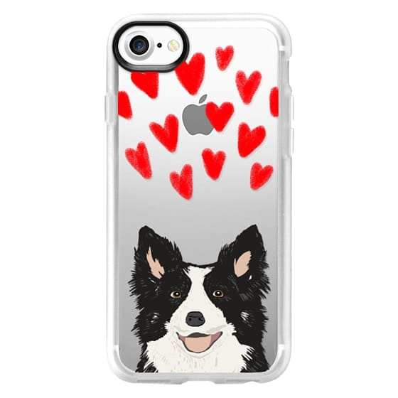 iPhone 7 Cases - Border Collie owners herding dog breeds gifts for dog person dog breed customizable gifts perfect for new dog border collie