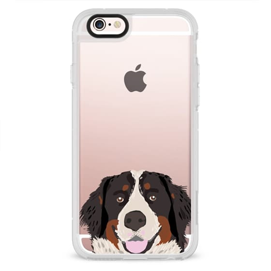 size 40 1274a 90b9d Classic Grip iPhone 6s Case - Bernese Mountain Dog portrait clear phone  case dogs dog case bernese mountain dog owners will love this clear iphone  ...