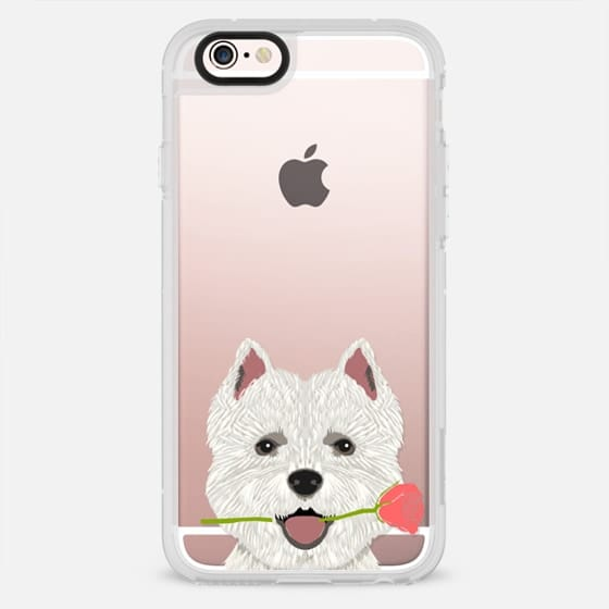 Highland Terrier dog owner gift idea cute cell phone case for dog person different dog breeds - New Standard Case