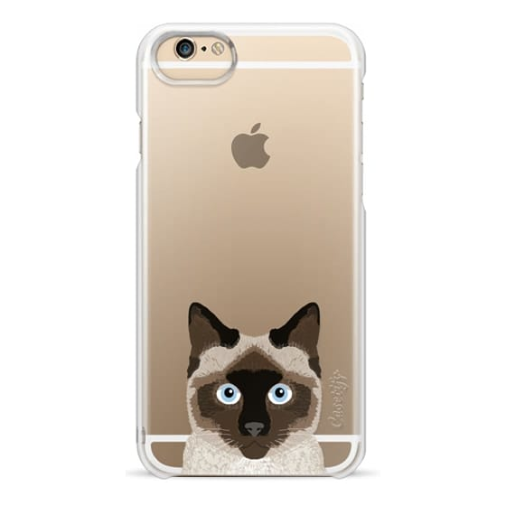 huge selection of 738c8 dea73 Classic Grip iPhone 6s Case - Siamese cat person cat owner gift for siamese  cute cat kittens cell phone case