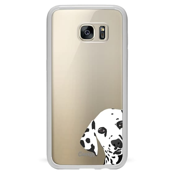 premium selection 3344d 60250 Classic Snap Samsung Galaxy S7 Edge Case - Dalmatian dog cell phone  transparent case for iphone6 gold iphone cases customizable pet person gift  dog ...