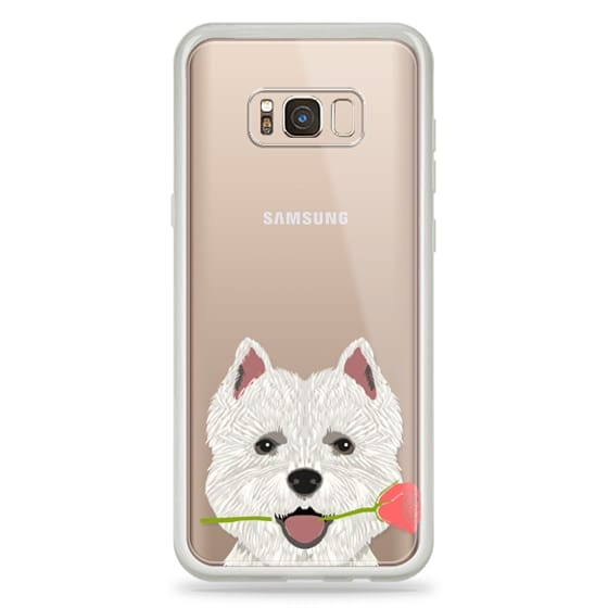 Highland Terrier dog owner gift idea cute cell phone case for dog person different dog breeds