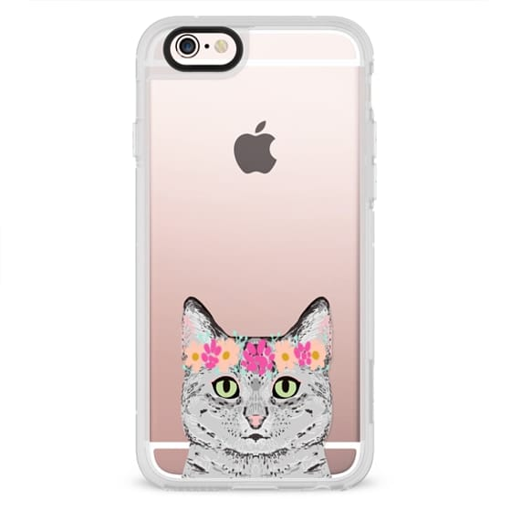 iPhone 6s Cases - Grey Tabby Cat cute cat gift idea for cat person cat lady cell phone cases