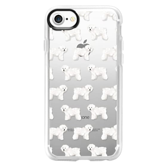 iPhone 7 Cases - Bichon cute cell phone case for bichon frise owner cute little white fluffy dog cell phone case