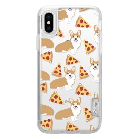 Corgi pizza cheesy slices welsh corgi lovers cell phone case must have gifts for dog person with corgis