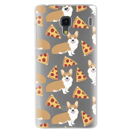 Redmi 1s Cases - Corgi pizza cheesy slices welsh corgi lovers cell phone case must have gifts for dog person with corgis