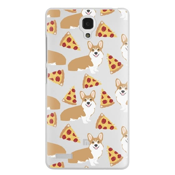 Redmi Note Cases - Corgi pizza cheesy slices welsh corgi lovers cell phone case must have gifts for dog person with corgis