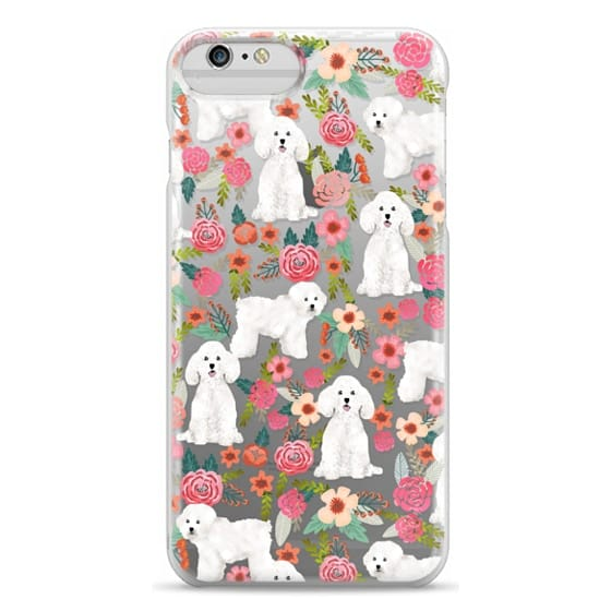 iPhone 6 Plus Cases - Bichon florals dog breed must have gifts for bichon frise cute fluffy white dog owners rejoice at this gift