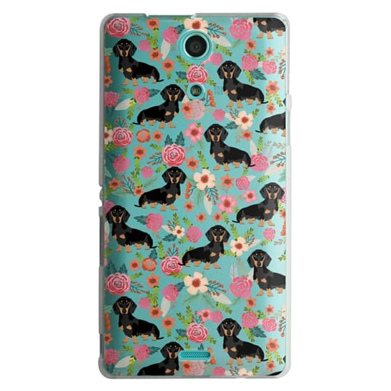 Dachshund moxie cute florals weener dog must have gifts for dog person dog breed