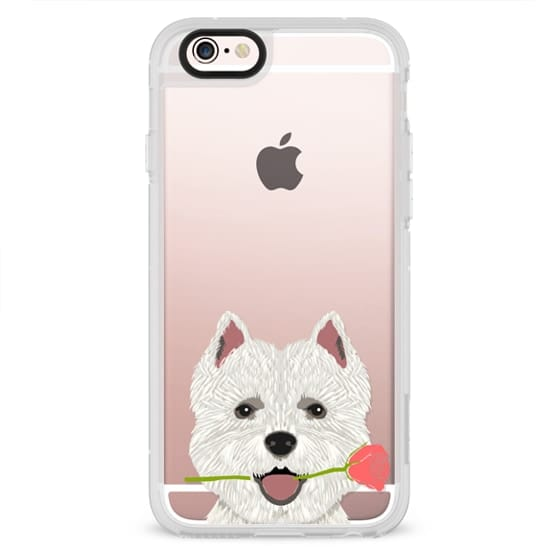 iPhone 6s Cases - Highland Terrier dog owner gift idea cute cell phone case for dog person different dog breeds