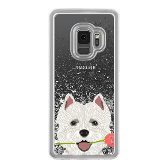 Samsung Galaxy S9 Cases - Highland Terrier dog owner gift idea cute cell phone case for dog person different dog breeds
