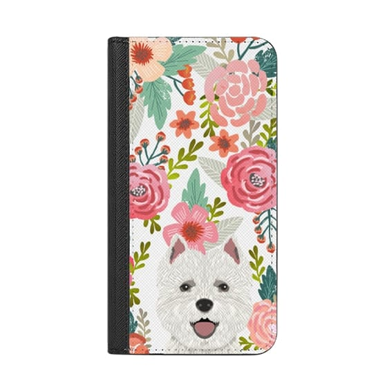 477a41a931 Highland Terrier cute florals girly hipster trendy transparent cell phone  case dog breeds gifts for dog person
