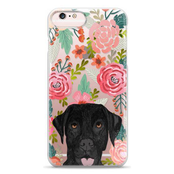 iPhone 6s Plus Cases - Black Lab cute labrador retriever pet portrait dog gifts custom dog person must have cell phone transparent case