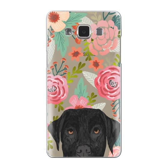 Samsung Galaxy A5 Cases - Black Lab cute labrador retriever pet portrait dog gifts custom dog person must have cell phone transparent case