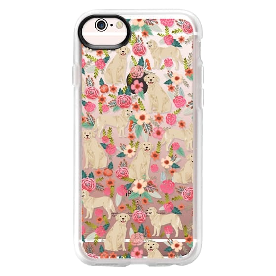 iPhone 6s Cases - Golden Retrievers Florals cute dogs dog design cute flowers labradors golden retriever owners will love this clear iphone 6 case