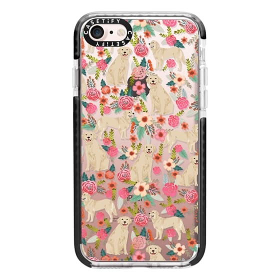 iPhone 7 Cases - Golden Retrievers Florals cute dogs dog design cute flowers labradors golden retriever owners will love this clear iphone 6 case