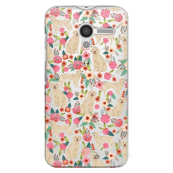 Moto X Cases - Golden Retrievers Florals cute dogs dog design cute flowers labradors golden retriever owners will love this clear iphone 6 case