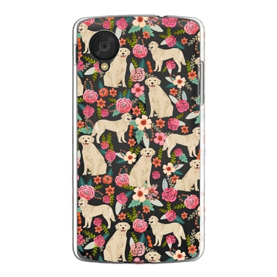 Nexus 5 Cases - Golden Retrievers Florals cute dogs dog design cute flowers labradors golden retriever owners will love this clear iphone 6 case