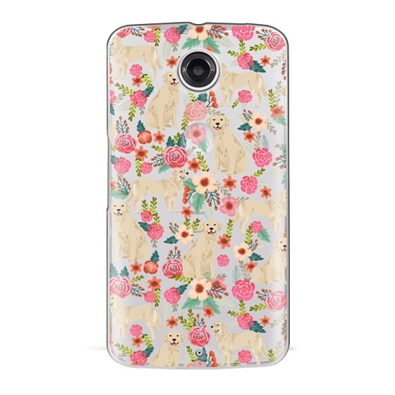 Nexus 6 Cases - Golden Retrievers Florals cute dogs dog design cute flowers labradors golden retriever owners will love this clear iphone 6 case