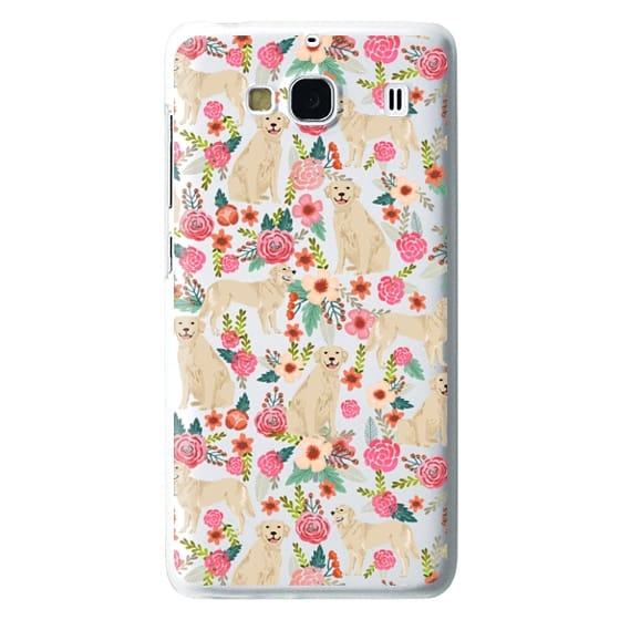 Redmi 2 Cases - Golden Retrievers Florals cute dogs dog design cute flowers labradors golden retriever owners will love this clear iphone 6 case