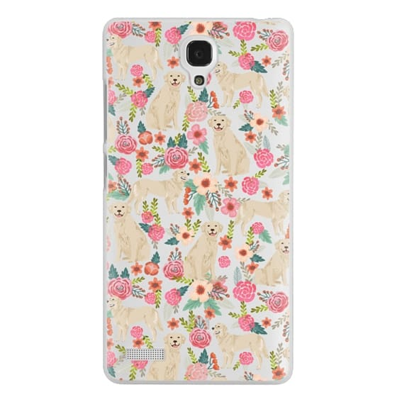 Redmi Note Cases - Golden Retrievers Florals cute dogs dog design cute flowers labradors golden retriever owners will love this clear iphone 6 case