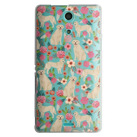 Sony Zr Cases - Golden Retrievers Florals cute dogs dog design cute flowers labradors golden retriever owners will love this clear iphone 6 case