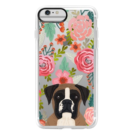 iPhone 6 Plus Cases - Boxer dog breed boxer owner must have iphone6 transparent cell phone case