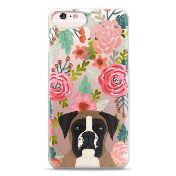 iPhone 6s Plus Cases - Boxer dog breed boxer owner must have iphone6 transparent cell phone case