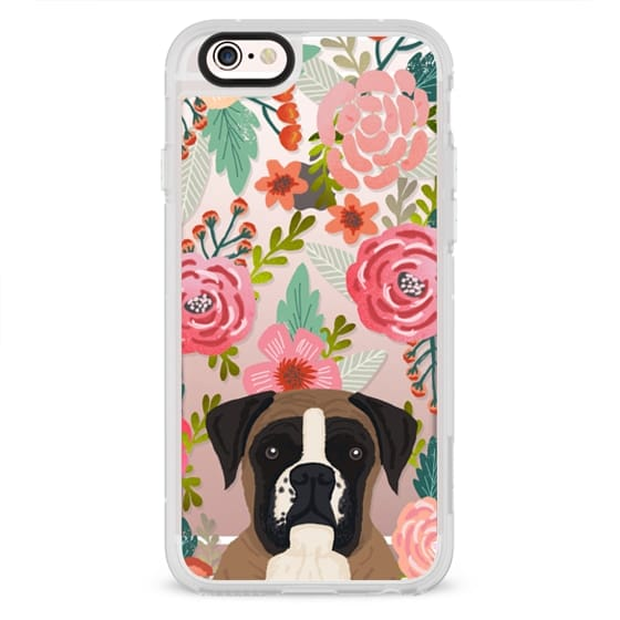 iPhone 4 Cases - Boxer dog breed boxer owner must have iphone6 transparent cell phone case