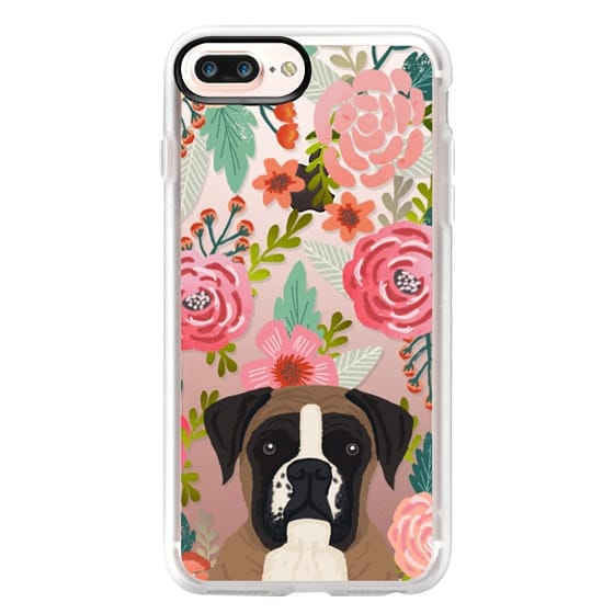 iPhone 7 Plus Cases - Boxer dog breed boxer owner must have iphone6 transparent cell phone case