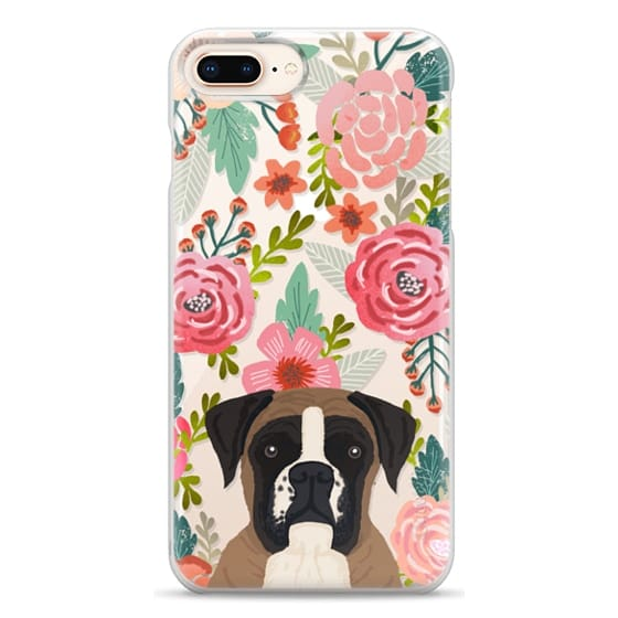 iPhone 8 Plus Cases - Boxer dog breed boxer owner must have iphone6 transparent cell phone case