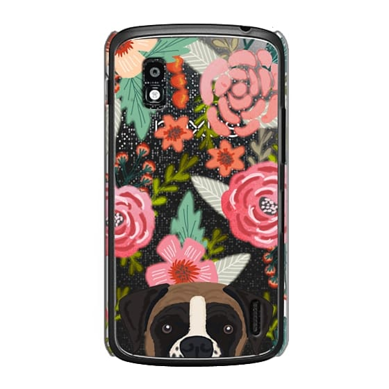 Nexus 4 Cases - Boxer dog breed boxer owner must have iphone6 transparent cell phone case